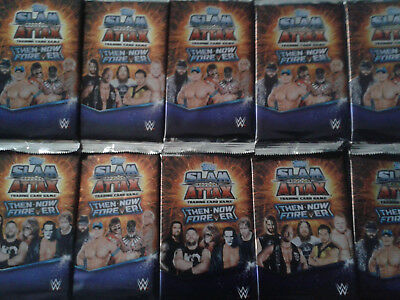 Slam Attax Then Now Forever WRESTLING 25 Booster
