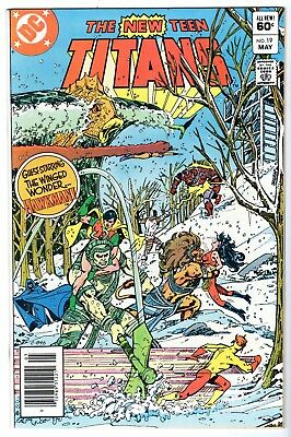 New Teen Titans #19, Near Mint Minus Condition