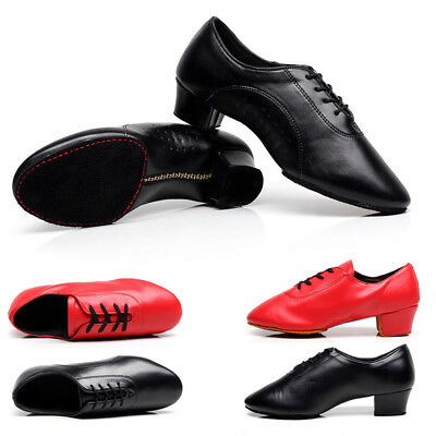 Modern Dance Low Heels Shoes Waltz Party Ballroom Latin Tango Practice Shoes
