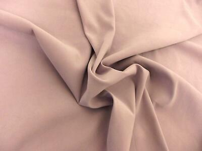Faux Suede Suedette MOLESKIN Fabric Material - LILAC