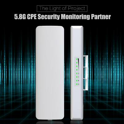 COMFAST 3KM Outdoor CPE 5.8GHz 300Mbps Wireless Access Point WiFi Repeater AP CF