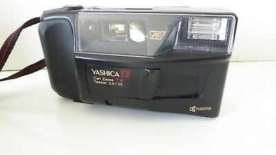 Yashica T3 mit Carl Zeiss T* Tessar 2,8/35mm TOP Zustand