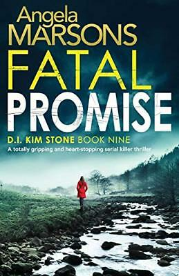 Fatal Promise: A totally gripping and heart by Angela Marsons New Paperback Book