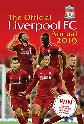 The Official Liverpool FC Annual 2019 by Mark Platt New Hardcover Book