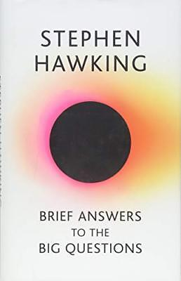 Brief Answers to the Big Questions: the fi by Stephen Hawking New Hardcover Book