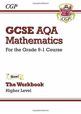 GCSE Maths AQA Workbook: Higher - for the Grade 9-1 Co by CGP New Paperback Book