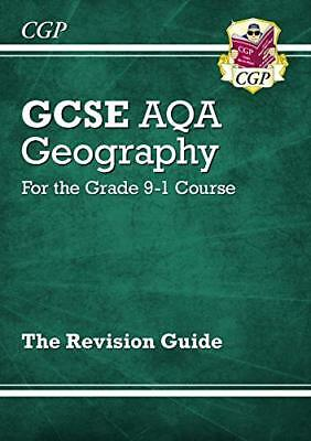 New Grade 9-1 GCSE Geography AQA Revision Guide (CGP G by CGP New Paperback Book