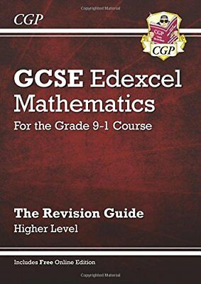 GCSE Maths Edexcel Revision Guide: Higher - for the Gr by CGP New Paperback Book