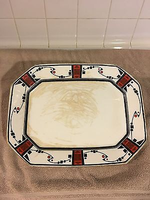 "Vintage Burleigh Ware / Burgess & Leigh 13"" Serving Dish"