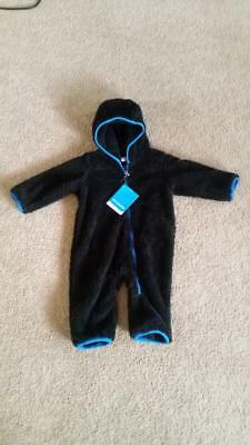 37cc6d949804 COLUMBIA BABY BOYS 6 Months BUNTING Hooded Fleece Suit -  10.99 ...