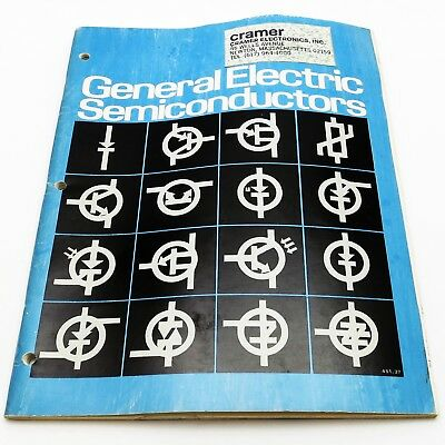 GENERAL ELECTRIC SEMICONDUCTORS 1976 CATALOG / DATA BOOK Signal Tunnel Diodes ++