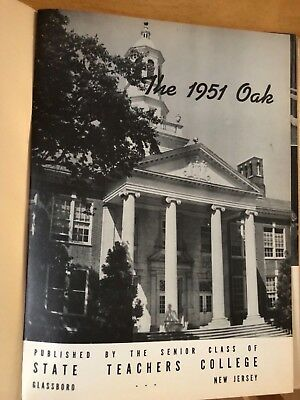 1951 Yearbook - State Teachers College of New Jersey - The 1951 Oak