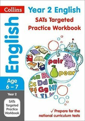 Year 2 English Targeted Practice Workbook: 201 by Collins KS1 New Paperback Book