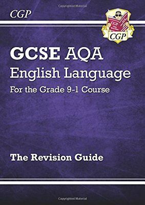 GCSE English Language AQA Revision Guide - for the Gra by CGP New Paperback Book