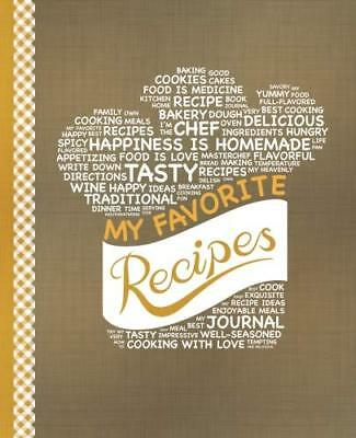 My Favorite Recipes: Blank Recipe Book to  by Happy Books Hub New Paperback Book