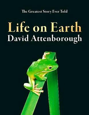 Life on Earth by David Attenborough New Hardcover Book