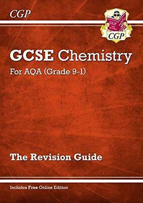 New Grade 9-1 GCSE Chemistry: AQA Revision Guide with  by CGP New Paperback Book
