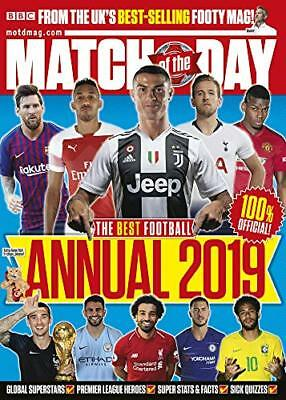 Match of the Day Annual 2019 (Annuals 2019) by Motd Magazine New Hardcover Book