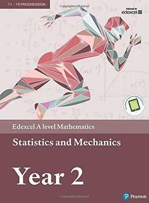 Edexcel A level Mathematics Statistics & Mecha by Harry Smith New Paperback Book