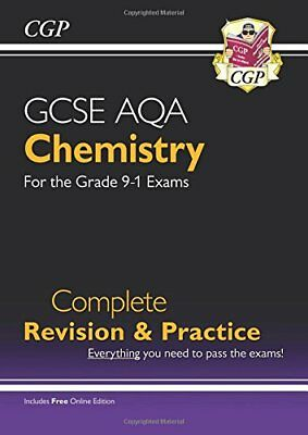 New Grade 9-1 GCSE Chemistry AQA Complete Revision & P by CGP New Paperback Book