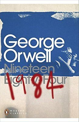 1984 Nineteen Eighty-Four (Penguin Modern Cl by George Orwell New Paperback Book