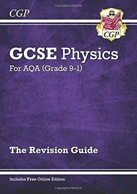 New Grade 9-1 GCSE Physics: AQA Revision Guide with On by CGP New Paperback Book