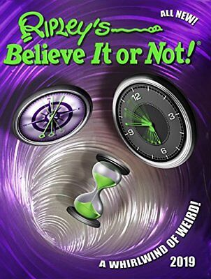 Ripley's Believe It or Not! 2019 (Annuals 2019) by Ripley New Hardcover Book