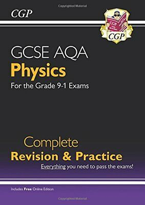 New Grade 9-1 GCSE Physics AQA Complete Revision & Pra by CGP New Paperback Book