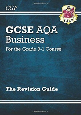 New GCSE Business AQA Revision Guide - for the Grade 9 by CGP New Paperback Book