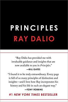 Principles: Life and Work by Ray Dalio New Hardcover Book