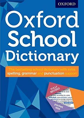 Oxford School Dictionary (Oxford Dicti by Oxford Dictionaries New Paperback Book