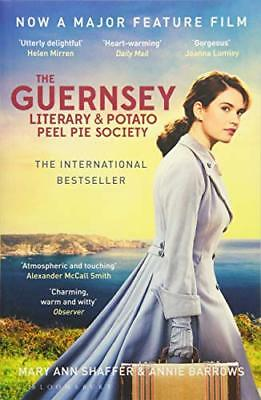The Guernsey Literary and Potato Peel Pie So by Annie Barrows New Paperback Book