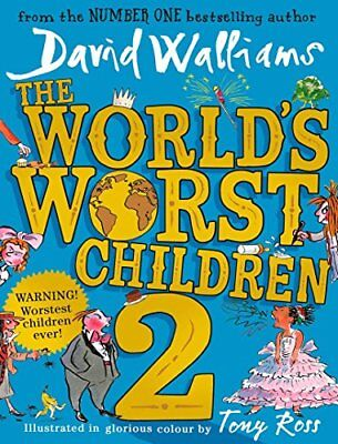 The World's Worst Children 2 by David Walliams New Hardcover Book