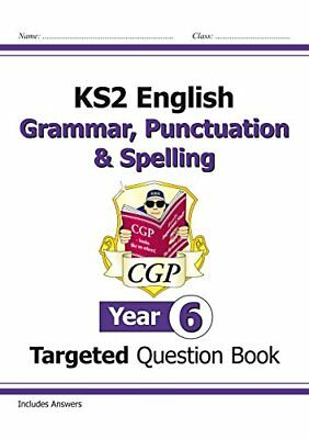 KS2 English Targeted Question Book: Grammar, Punctuati by CGP New Paperback Book