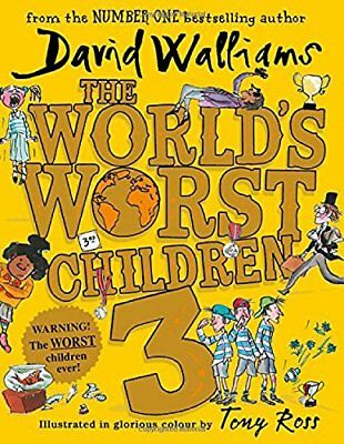 The World's Worst Children 3: Fiendishly Fu by David Walliams New Hardcover Book