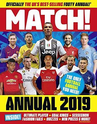 Match Annual 2019 (Annuals 2019) by MATCH New Hardcover Book