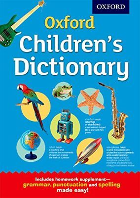 Oxford Children's Dictionary by Oxford Dictionaries New Hardcover Book