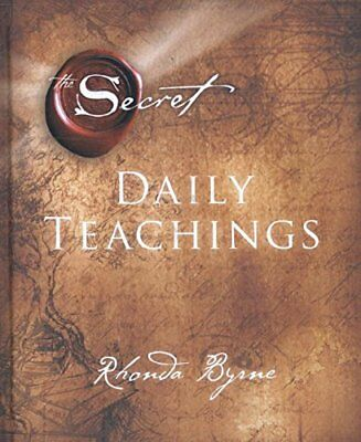 The Secret Daily Teachings by Rhonda Byrne New Hardcover Book