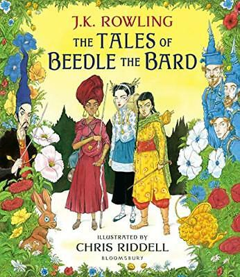 The Tales of Beedle the Bard: Illustrated Edi by J.K. Rowling New Hardcover Book