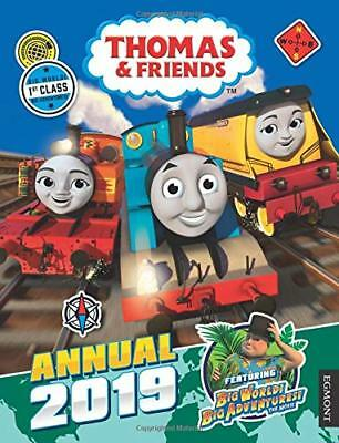 Thomas & Friends: Annual 2019 (Annual by Egmont Publishing UK New Hardcover Book