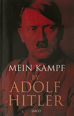 Mein Kampf by Adolf Hitler New Paperback Book