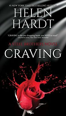 Craving (Steel Brothers Saga Book 1) by Helen Hardt New Paperback Book