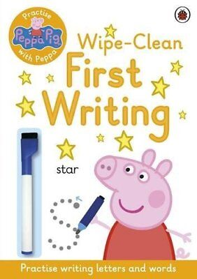 Peppa Pig: Practise with Peppa: Wipe-Clean First Writin by NA New Paperback Book