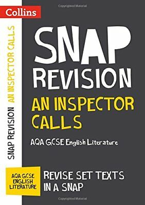 An Inspector Calls: AQA GCSE 9-1 English Lite by Collins GCSE New Paperback Book