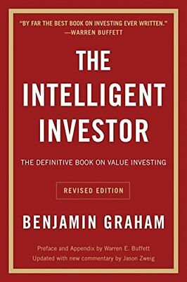 Intelligent Investor: The Definitive Book  by Benjamin Graham New Paperback Book