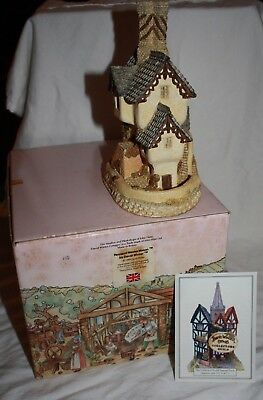 """David Winter Cottages """"house Of The Master Mason"""" 1984"""