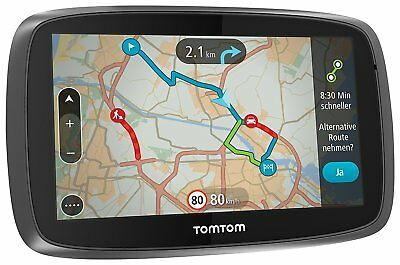 TomTom GO 5000 Europe Navigationsgerät 13cm Touchscreen 8GB intern Lifetime Maps