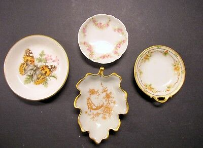 4 - Vintage BUTTER PAT ( Limoges / Nippon / Haviland / Royal Worchester )