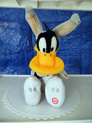 "Daffy Duck in Bugs Bunny Suit 12.5"" Plush"