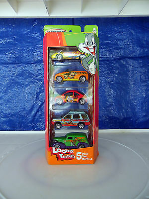 Looney Tunes Matchbox Die-Cast Car Set